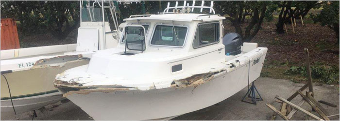 19' Dynasty 2006 - Repossession - Damaged Boat