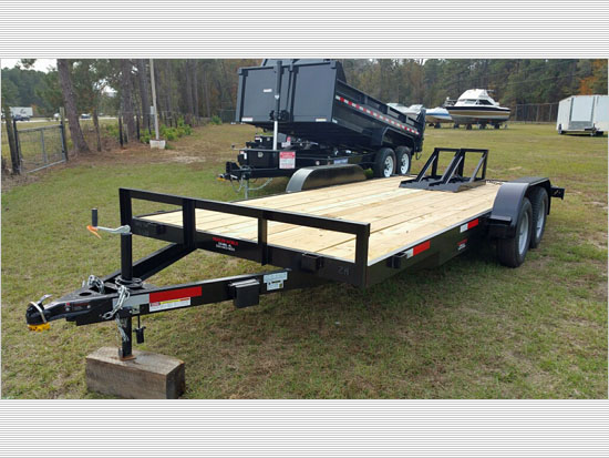 Caliber Trailer, MFG 18' 2018