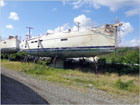 50' Robertson & Caine 2016 - Insurance Salvage - Damaged Boat